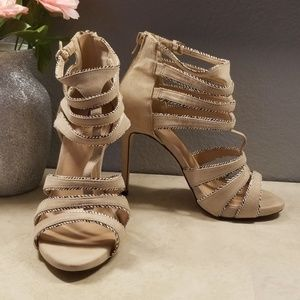 Call It Spring strappy heels size 8